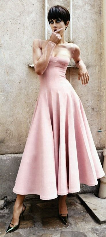 GAWD, this is gorgeous! It's not usually a color that I like. Dior 2012   Aymeline Valade   photo Patrick Demarchelier   Vogue Japan November 2012