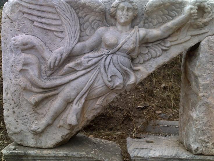 Flying angel- Ephesus-Izmir/Turkey