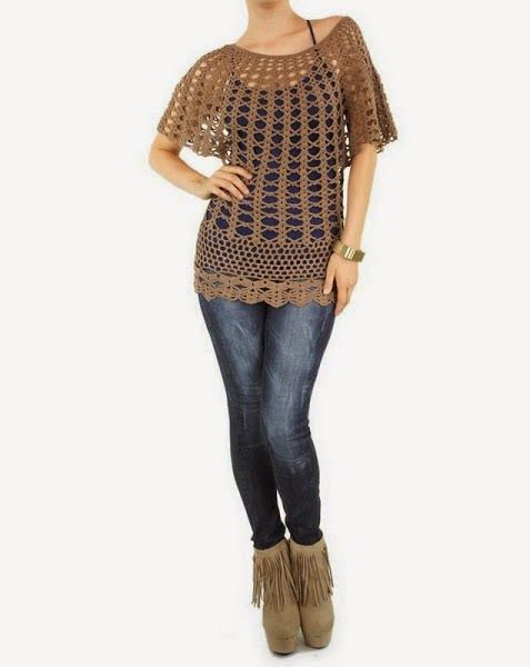 Irish crochet &: TUNIC