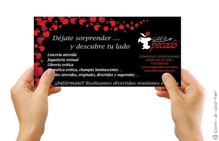 Flyer publicitario de No Es Pecado II