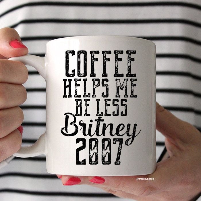My alarm literally says if Britney could survive 2007, then you can make it through today. I need this to complete my morning!