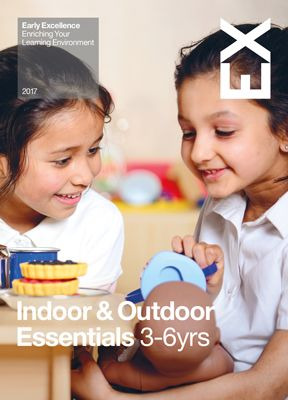 Everything you need for Essential Continuous Provision - Indoor & Out. New brochure now available and shop online at earlyexcellence.com/shop