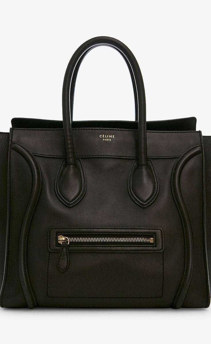 Celine Black Handbag | VAUNTE-- is this the newest 'it' bag?