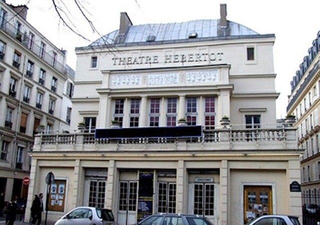 Façade théâtre Hebertot La vénus à la fourrure
