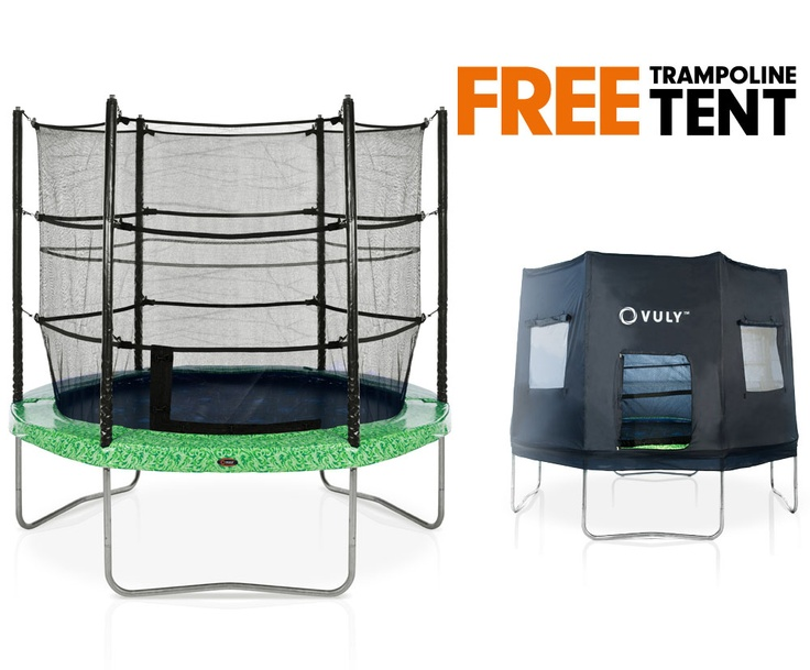 plum 10ft trampoline and 3g enclosure instructions