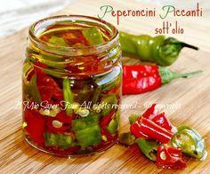 come conservare i peperoncini piccanti sotto olio il mio saper fare
