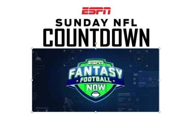 Facebook Twitter Reddit Google+ Pinterest StumbleUpon Tumblr Email ESPN is expanding both its signature NFL pregame show and its premier fantasy football show to three hours this fall as part of a new Sunday morning fall programming lineup beginning September 10. Sunday NFL Countdown presented by Snickers will now air from 10 a.m. – 1 p.m. ET on