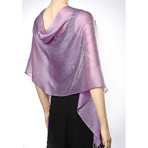 Pin by Elba Aranda on violeta in 2019 | Evening shawls ...