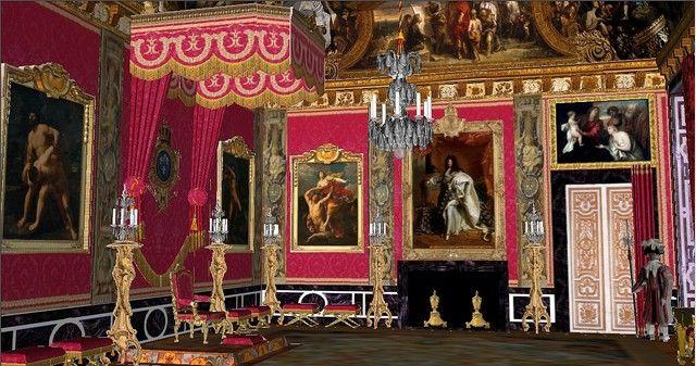 Ch teau de versailles grands appartements du roi salon d for Salon du vin versailles