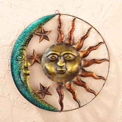 Sun and Moon Metal Wall Art collectionsetc.com
