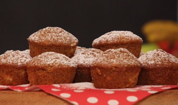 Banana and Cinnamon Muffins : Food : The Home Channel