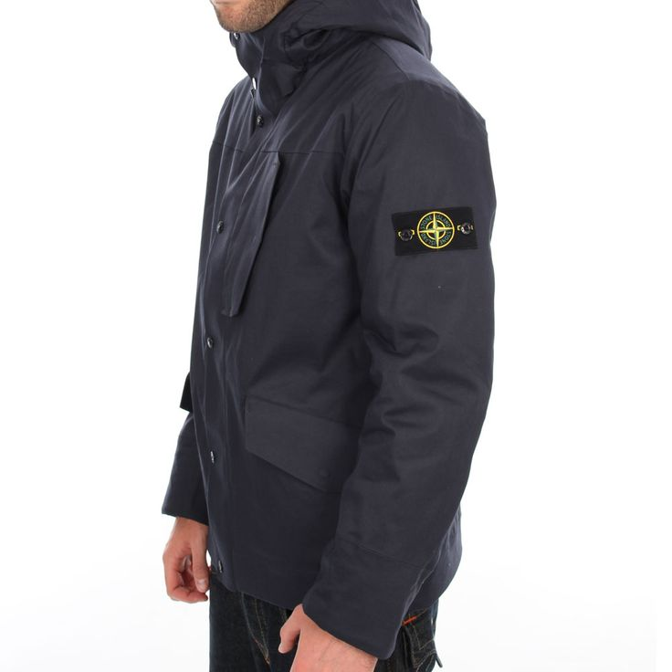 stone island navy 3l performance cotton jacket style book pinterest stone island stones. Black Bedroom Furniture Sets. Home Design Ideas