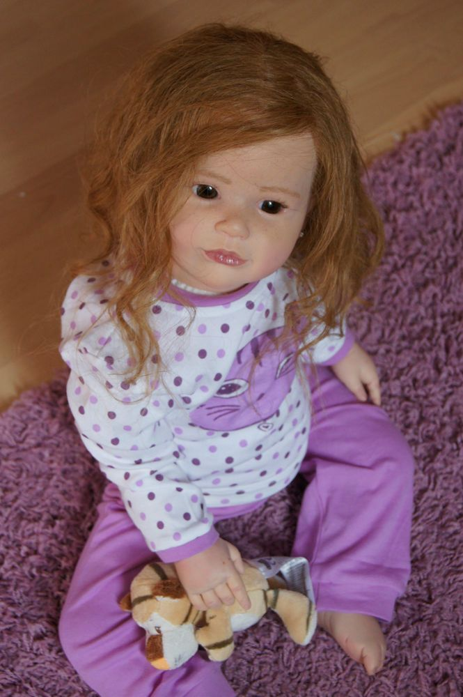 LNB~ Reborn Toddler Girl~Sally ~ Sculpt Regina Swialkowski~ Human Hair~cute