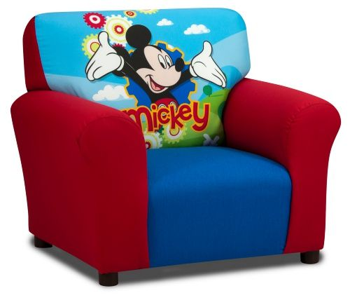 Disney Mickey Mouse Club Chair - Kids Upholstered Chairs at Hayneedle