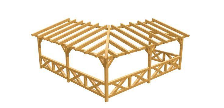 Eck Pergola Bauplan Terrassenuberdachung Pergola Selber Bauen Terrassenuberdachung Selber Bauen Pergola Design