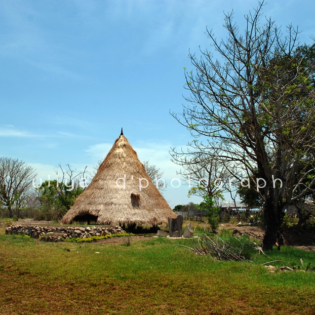 Mbaru Niang traditional houses at Flores NTT, Indonesian