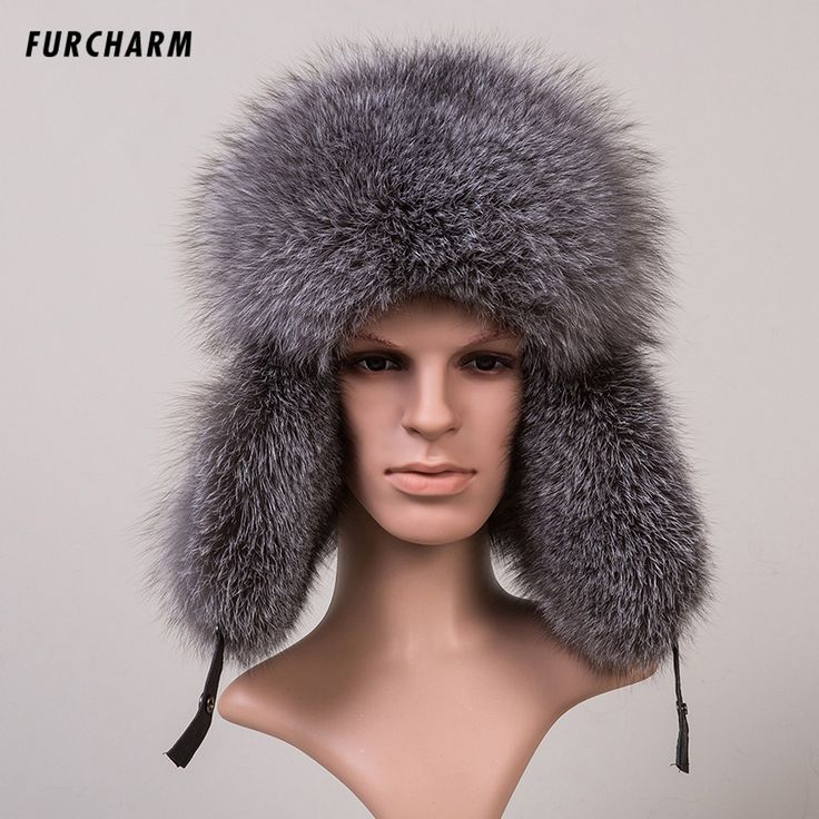 Men's Winter Hats with Ears Headgear for Men Autumn Winter Lei Feng Cap for Russian Men Bomber Hats with Sheepskin Leather Tops