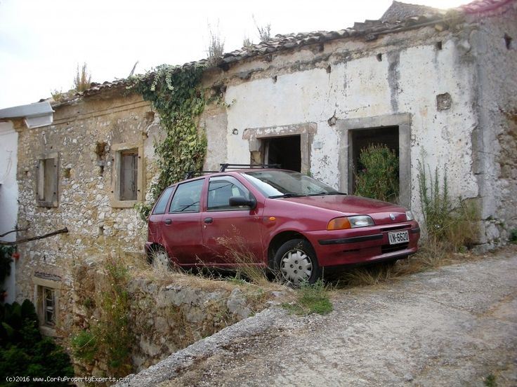 New listing. A renovation project for sale in Nymfes Corfu.