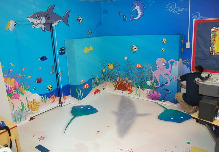 under the sea classroom | ... calming under the sea area in a corner of charlene younger s classroom