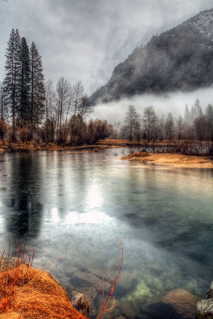 Merced River Yosemite NP California Mike Ronnebeck
