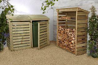 Wheelie Bin Store for the garden from Next