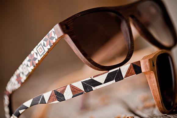 Gafas de sol de madera artesanales  059f6dff9f26