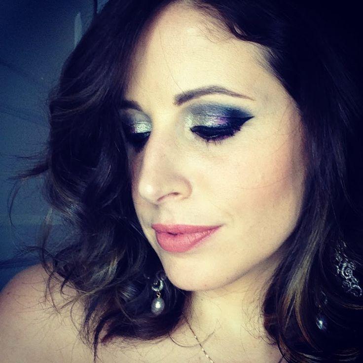 Makeup Tutorial Trucco VIOLA Metallico SILVER (+playlist)