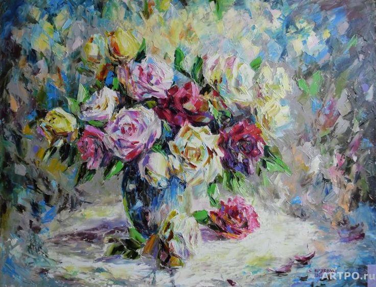 Розовая гармония | Круглова Светлана | АРТПО: продажа картин | живопись, интернет магазин картин | купить картину | картины художников