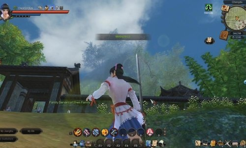 Age of Wulin free to play f2p mmo game role playing