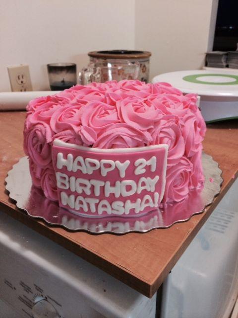 Pink Swirl Cake !
