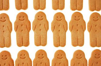 Why not make this quick and simple gingerbread biscuit recipe with the kids this weekend? You don't have to stick to the usual gingerbread men - you could cut it it into whatever shape you like. This gingerbread recipe is tangy and delicious