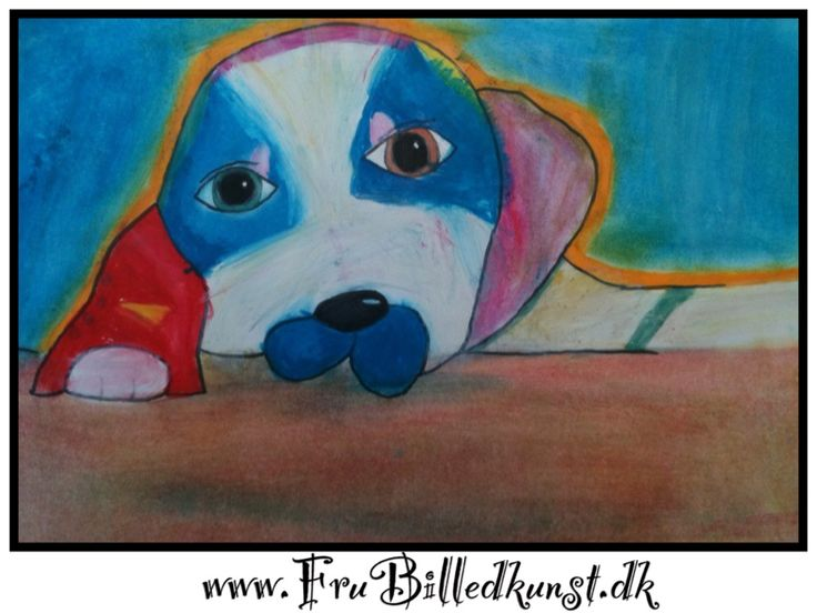 Den næste kunstner vi skal se på (Heather Galler) behandler motivet på en helt anden måde – jeg glæder mig allerede til næste uge, når mine ... http://www.frubilledkunst.dk/hunde-i-linda-cheng-stil/