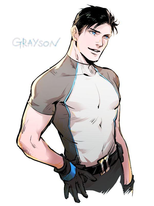Grayson by Haining-art on DeviantArt