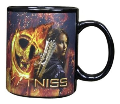 Amazon.com: The Hunger Games Movie Thermal Mug Katniss & Logo: Toys & Games