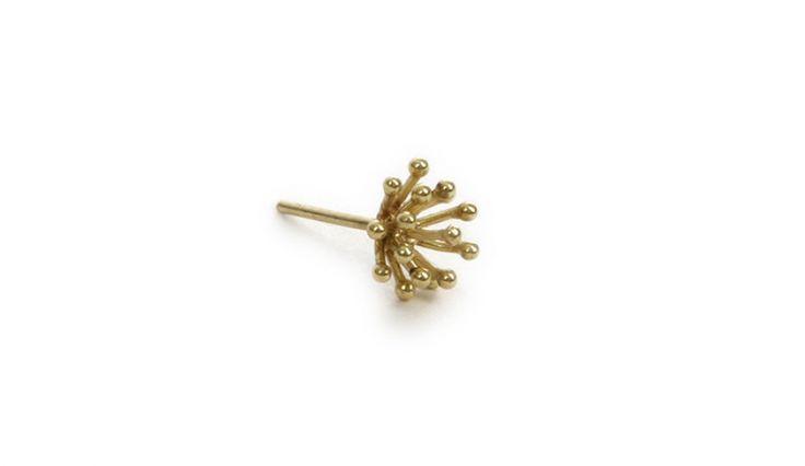 Liliana Guerreiro | Collections - Handmade 19 carat gold earring, using filigree technique