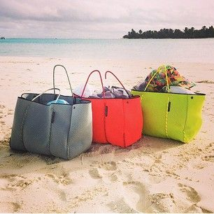 The beautiful Cook Islands. Thank you to Style Director @mattiecronan and gorgeous models @sam_harris @laurawellsmodel for making the Escape bag your must have accessory for summer! Regram @womensweeklymag #cookislands #escape #summer