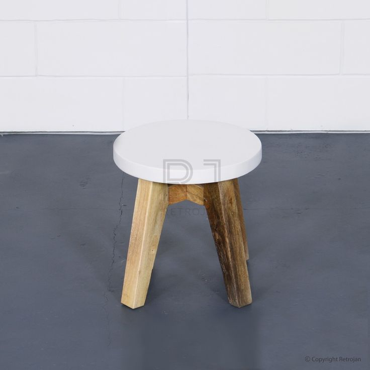 Jasper Scandinavian Style Side/End Table - White | $69.00
