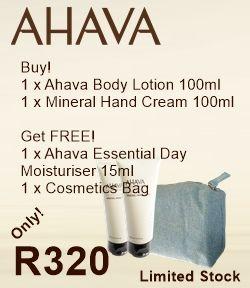 The last AHAVA special - valid until stock is depleted