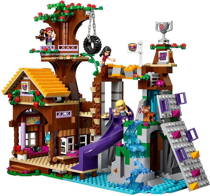 LEGO Friends 41122 - Adventure Camp Tree House   da www.giocovisione.com #lego #legofriends #legofriends2016
