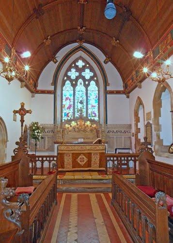 St Edwards Church Altar Eggbuckland Plymouth
