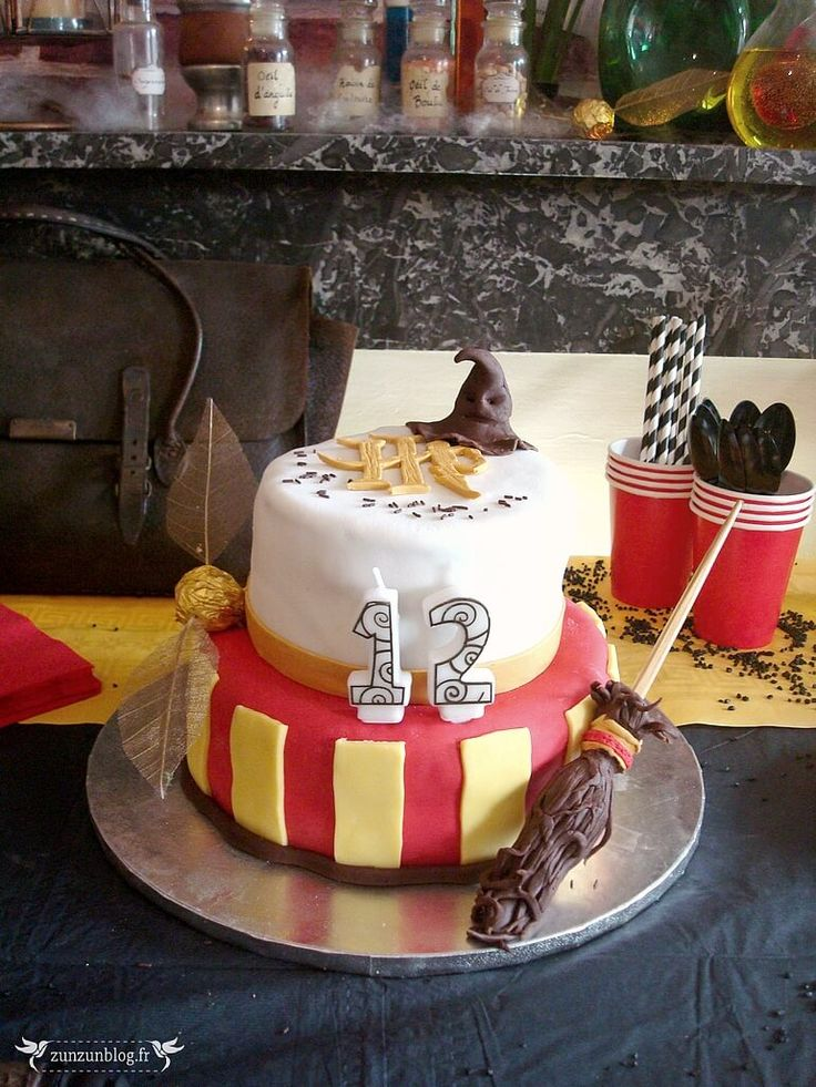 Gateau harry potter