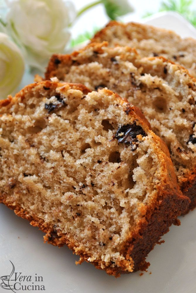 Plumcake ricotta e cioccolato. Vera in cucina blog