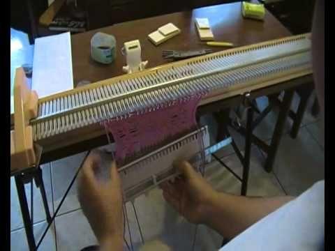 BIG PHIL - comment faire une torsade 2x2 avec la big phil , ou toute autre machine à tricoter simple fonture, version complete