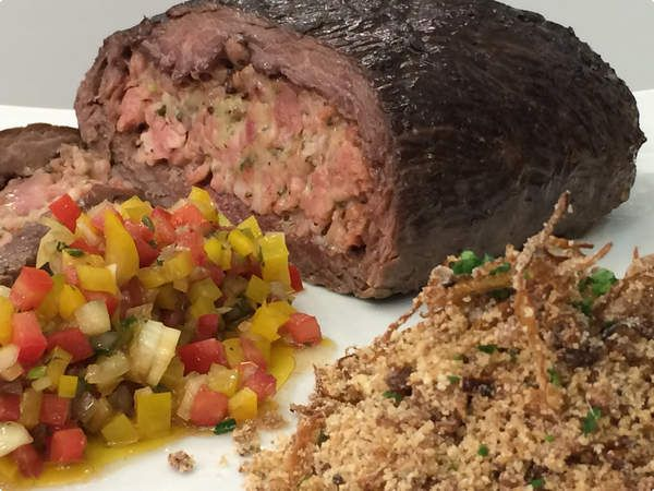 Ilhablog-delicias: Fraldinha Recheada