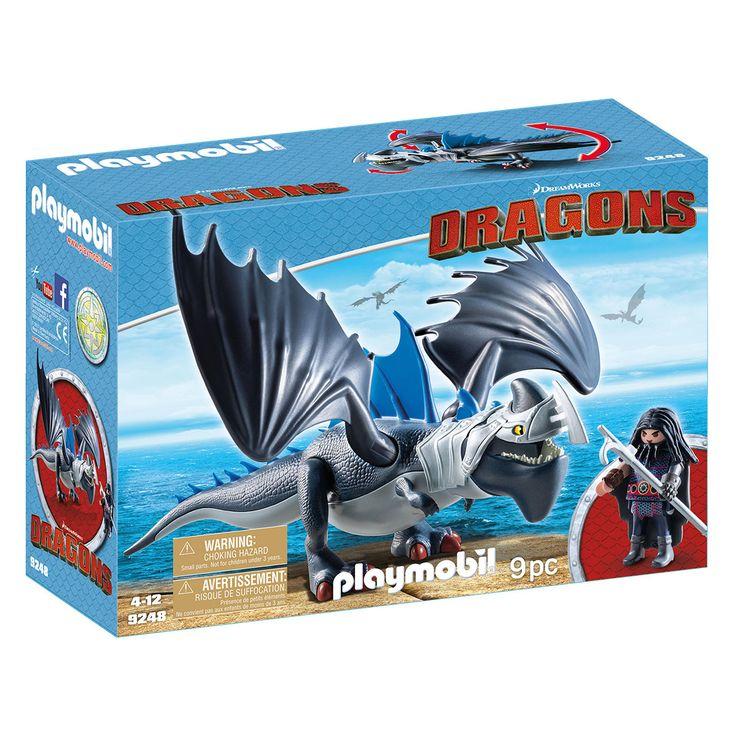 Playmobil Dragon med panserdrage 9248