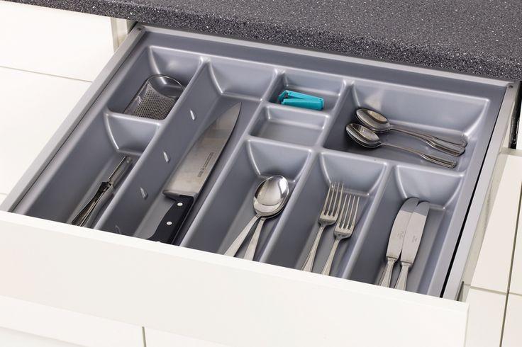 Sigdal kjøkken - innredning bestikkinnlegg plast