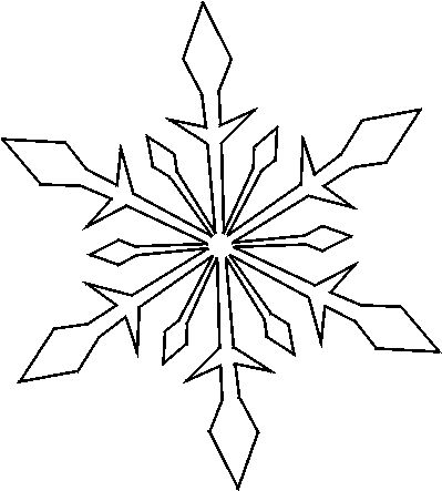 Best  Snowflake Stencil Ideas On   Paper Snowflake