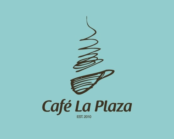 Cafe La Plaza Logo.