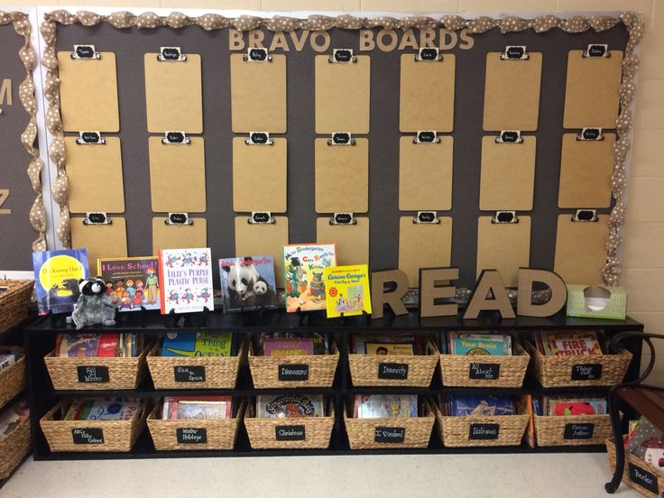 New reading center in my room! Love the bulletin boards and the burlap letters!! Just needs a few more finishing touches!