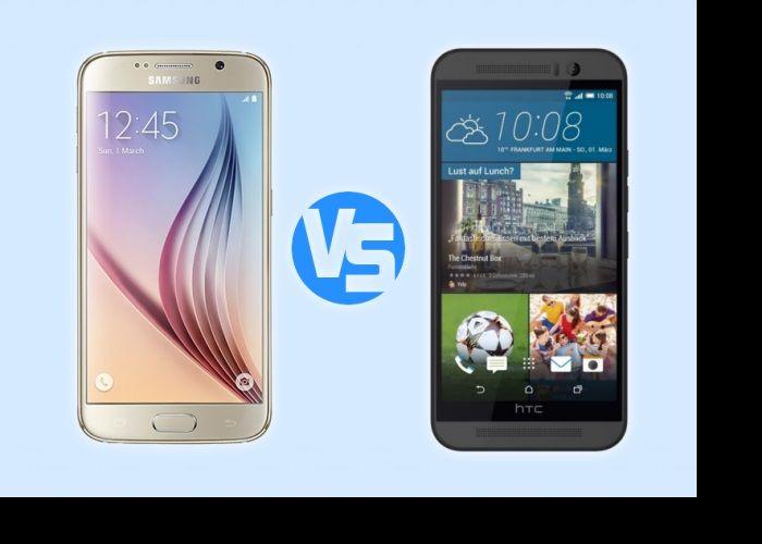 Samsung ve HTC, Barcelona'da yapılan MWC 2015'e damgasını vuran iki şirket oldu. Samsung, Galaxy S6 duyururken HTC de One M9 tanıttı.Her iki telefonda birbirlerinden ayrılan önemli özellikler bulu...